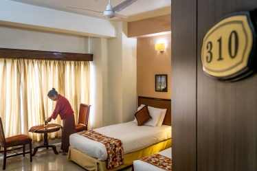 Deluxe Temple View Room (Twin Bed)